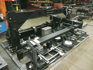 tire cutter on shipping rack