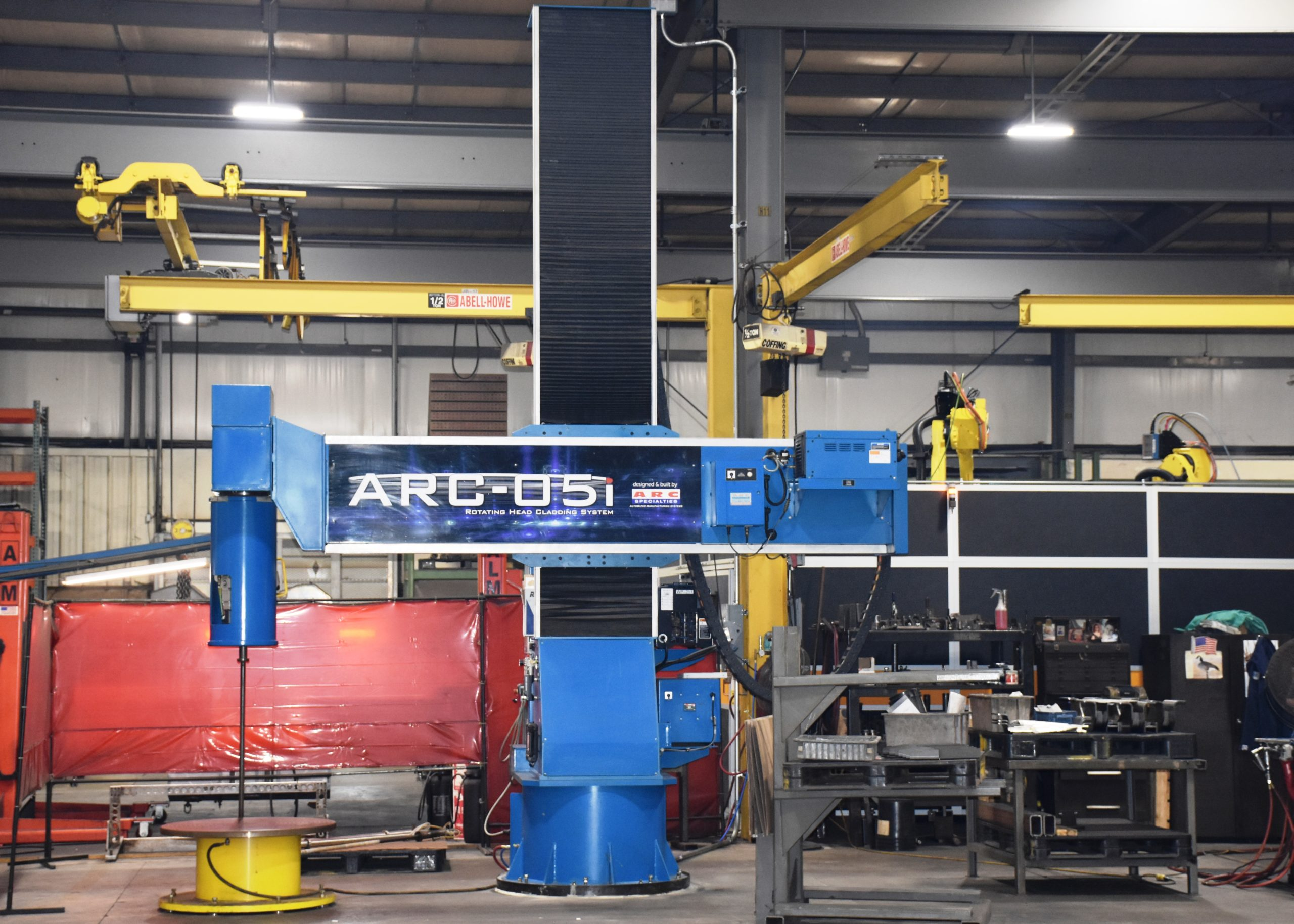 Automated weld cladding for hard surfacing/overlays bore welding and repair